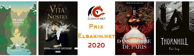 Prix Elbakin.net : les résultats