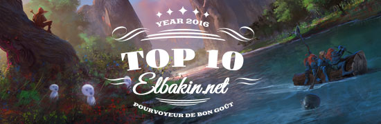 Top 10 2016 de la rédaction d'Elbakin.net