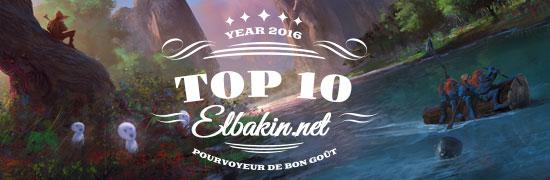 Top 10 2016 de la rédaction d'Elbakin.net