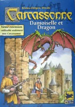 Carcassonne (avec extension Damoiselle et Dragon)