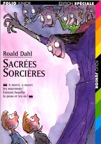 sacrées sorcières roald dahl livres de mon enfance folio junior