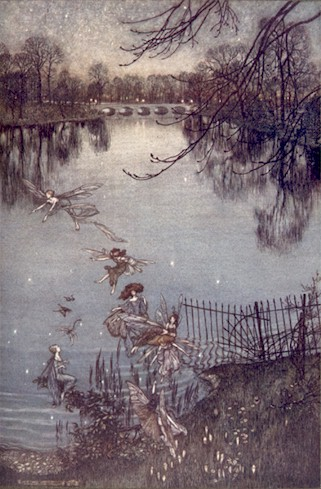 Illustration de Arthur Rackham