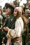 Capitaines Sparrow et Barbossa