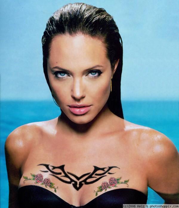 Morphotype de l'ENTJ Angelina-jolie-tattoos