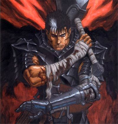 how tall is berserk guts