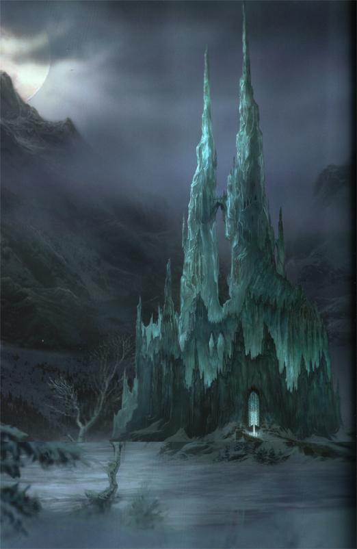 Chateau des glaces for Chateau de glace reine des neiges