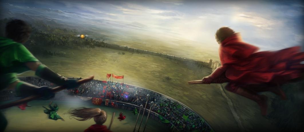 La coupe du monde de quidditch seconde partie - Harry potter coupe du monde de quidditch ...