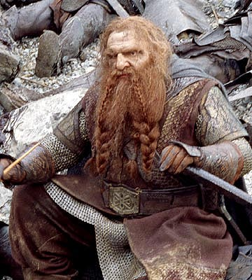 Le seigneur des annneaux Gimli