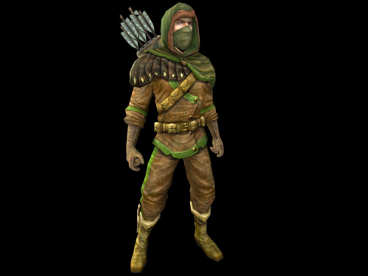 Regarde une feuille de personnage Ranger
