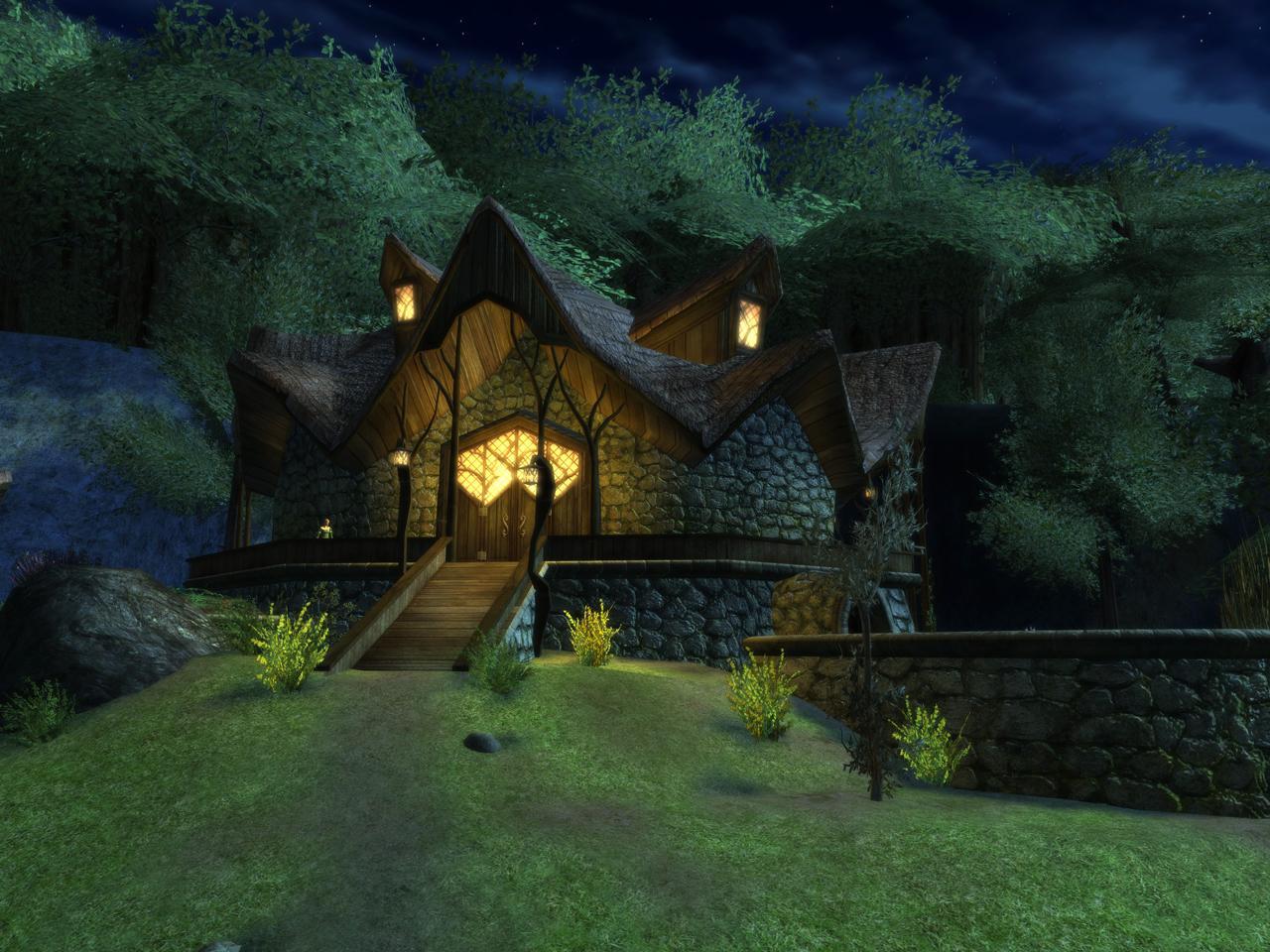Сказочные домики обои для рабочего стола
